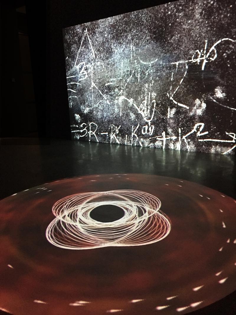 """The Einstein Collective, """"Black (W)hole,"""" 2011"""