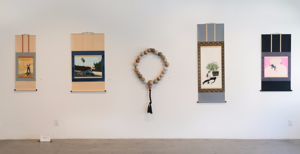 "Installation shot of ""The Golden State"" 
