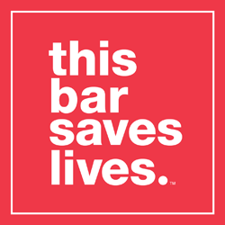 This Bar Saves Lives logo