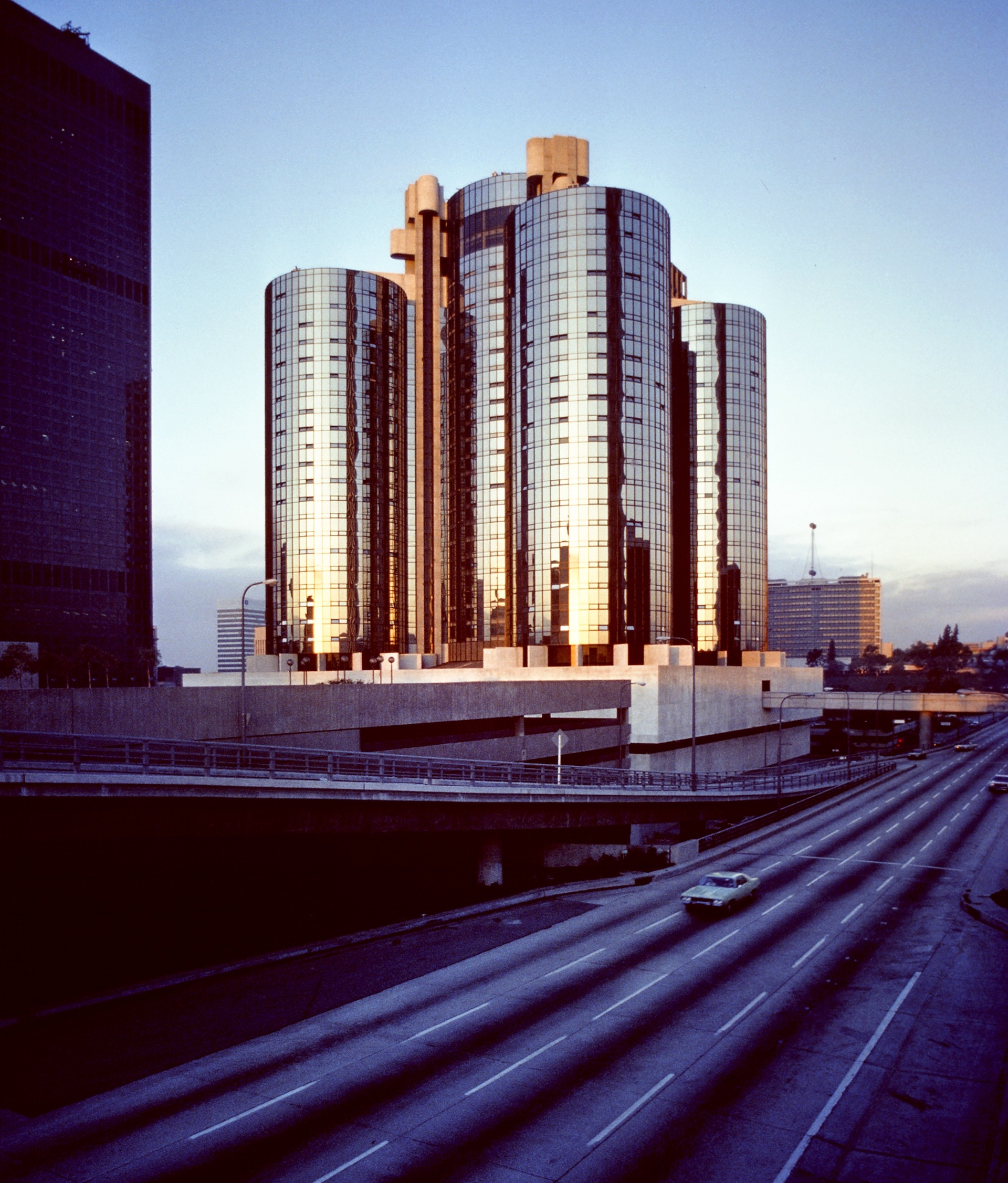 The Bonaventure Hotel, photographed by Wayne Thom in 1978.