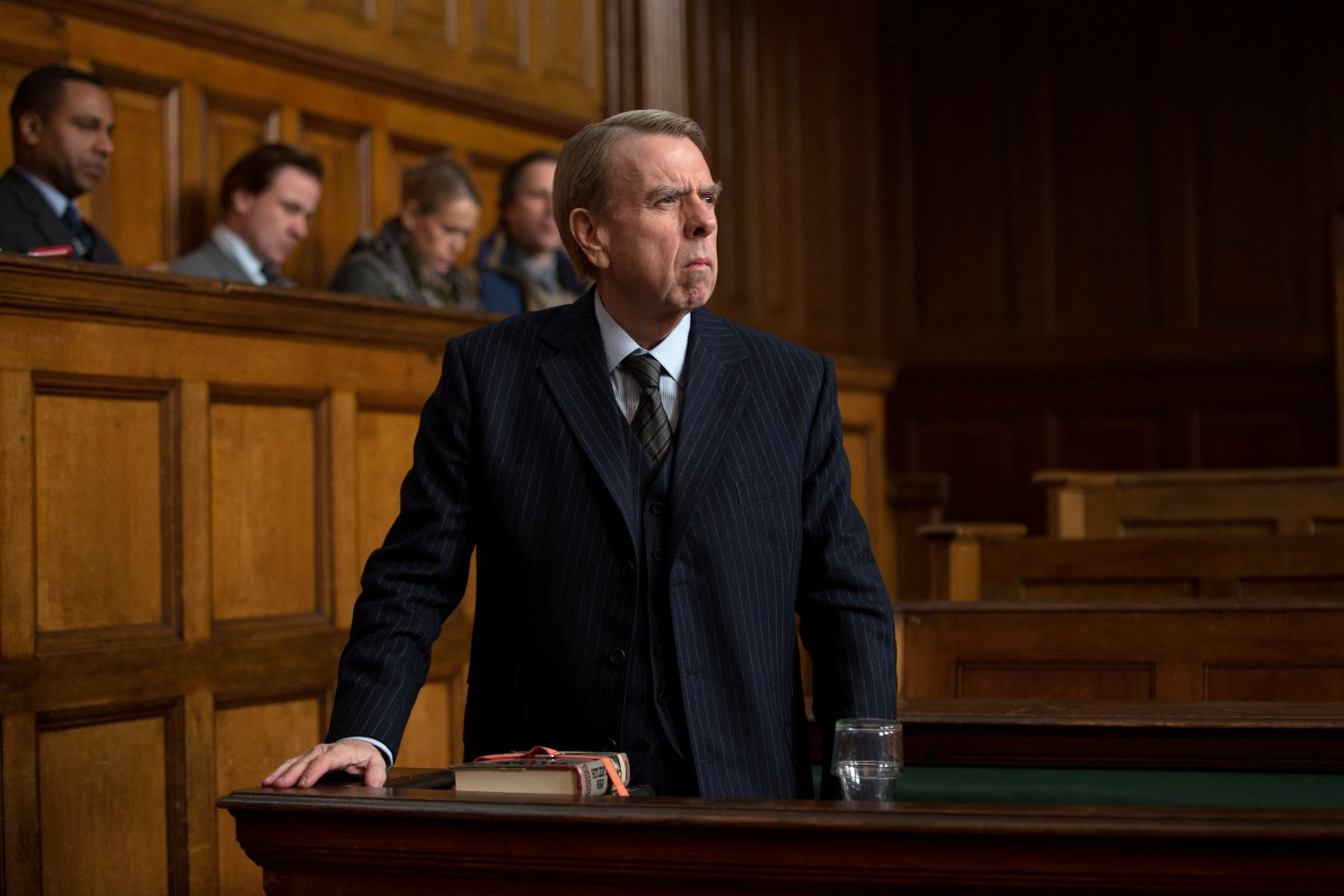 "Timothy Spall in ""Denial"""