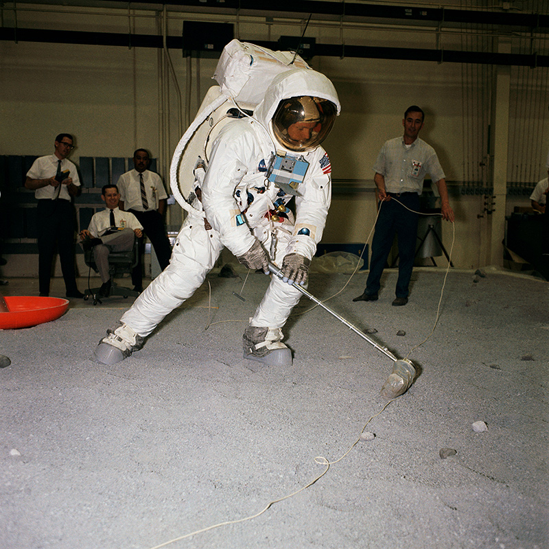 Armstrong training for Apollo 11. | Flickr/NASA/Creative Commons