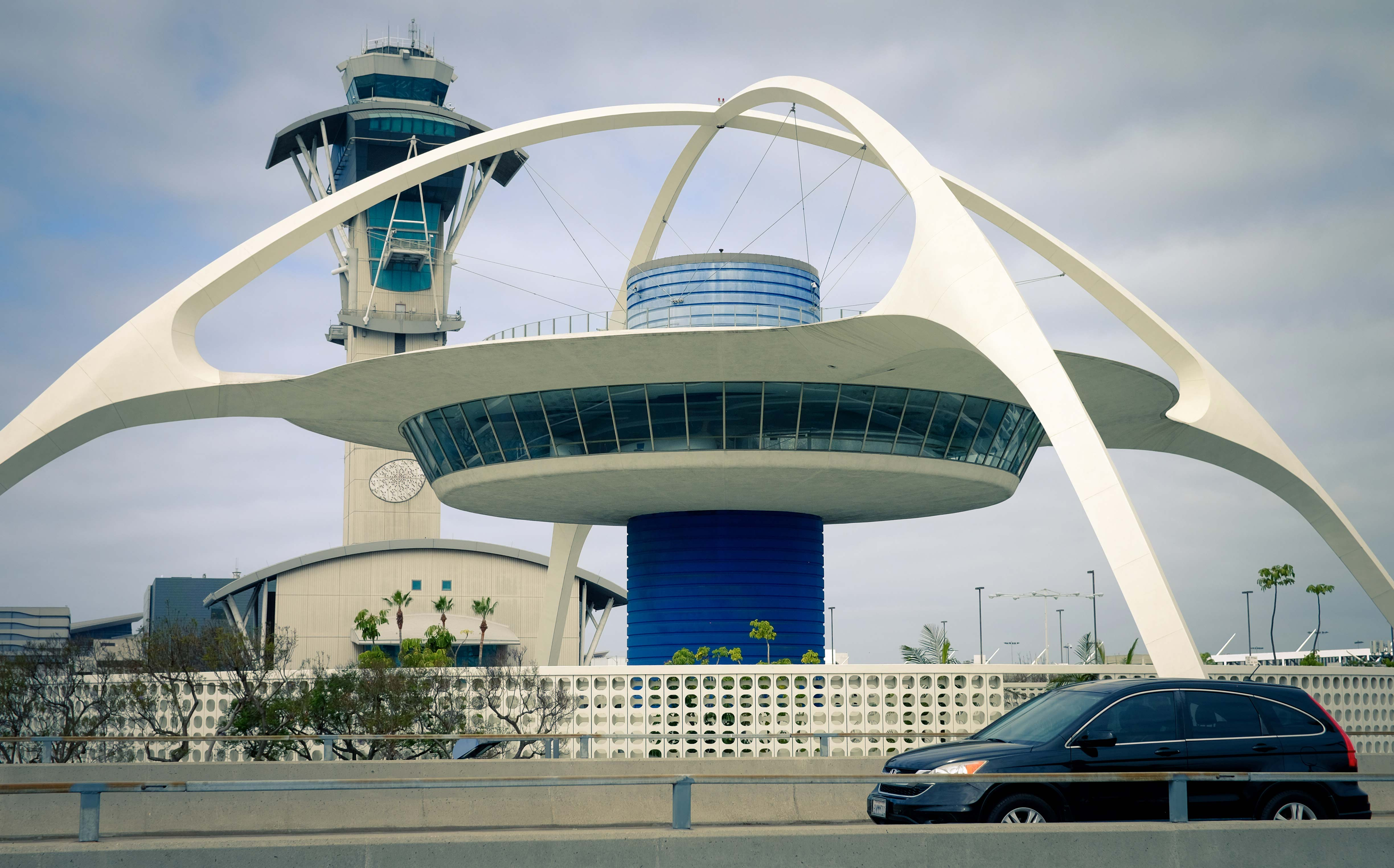 "LOST LA ""Paul Revere Williams: An African-American Architect in Jet-Age LA"" Pictured: The Theme Building (LAX), Courtesy of Matt Bass"