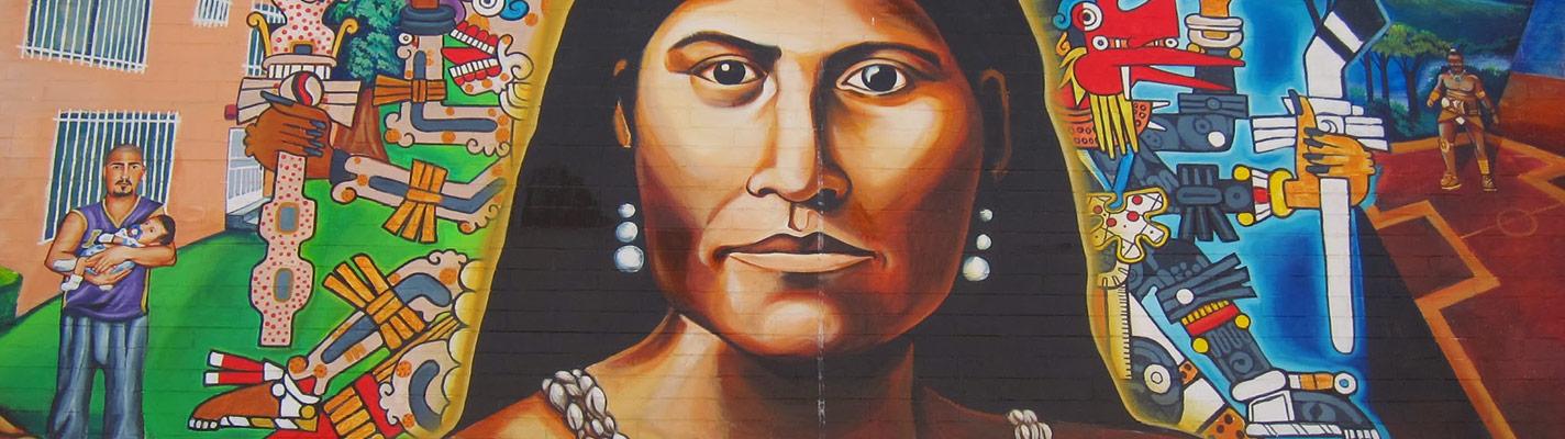 Mural honoring Toypurina