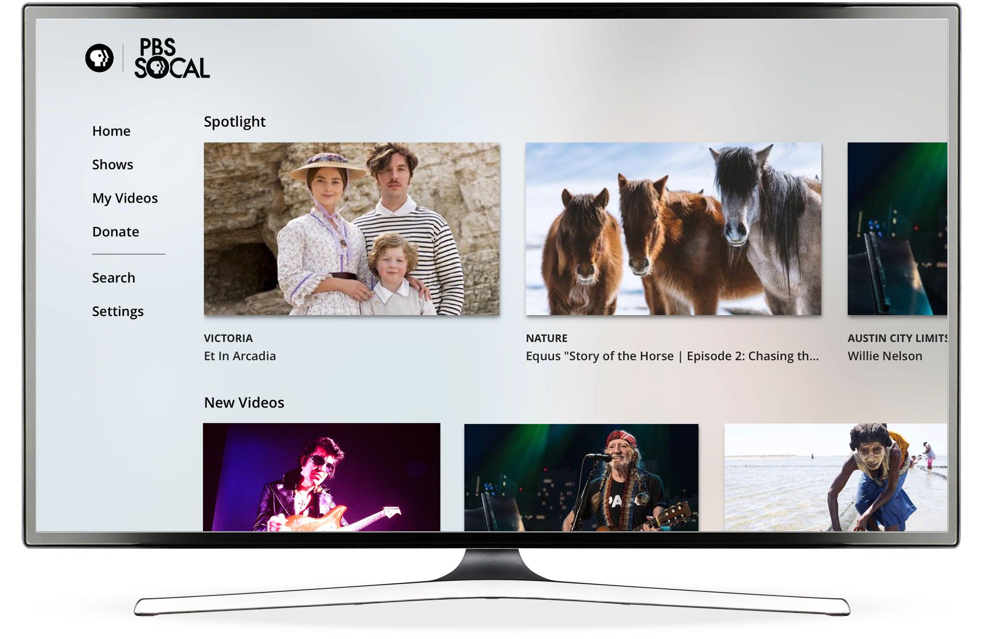 PBS TV Video App, Apple TV