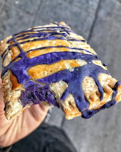 Ube Pop-tarts | Courtesy of Cafe 86
