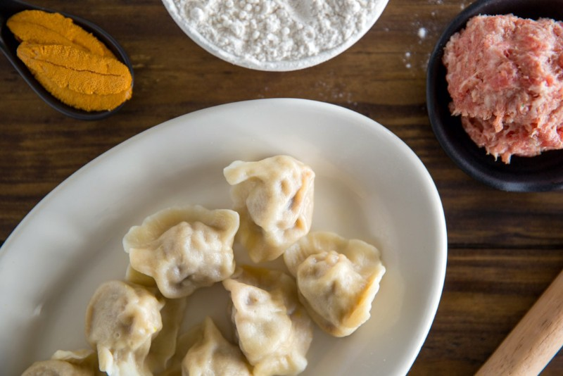 Boiled Uni Dumpling