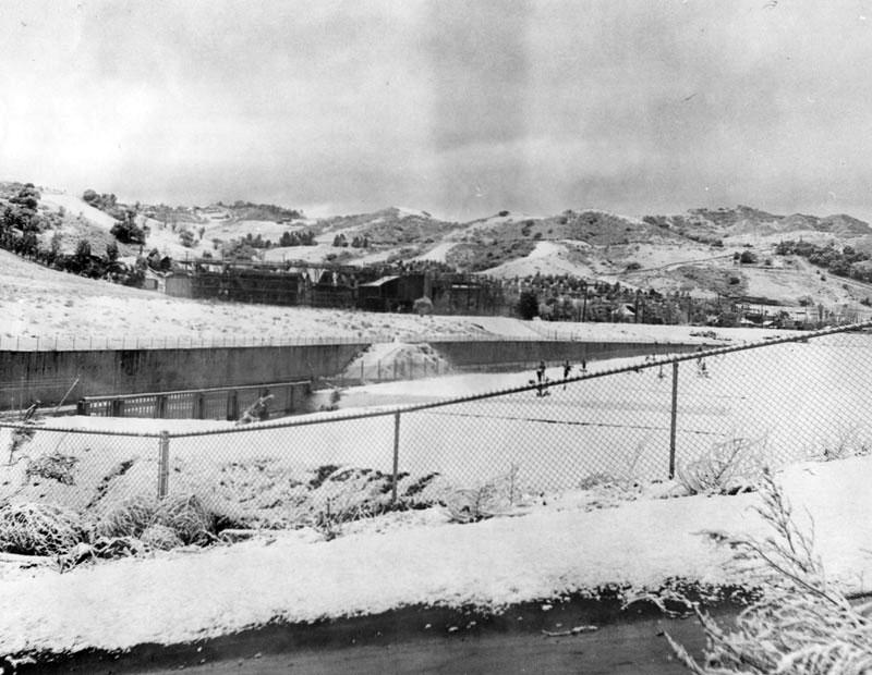 Snow on Universal Studios in 1948