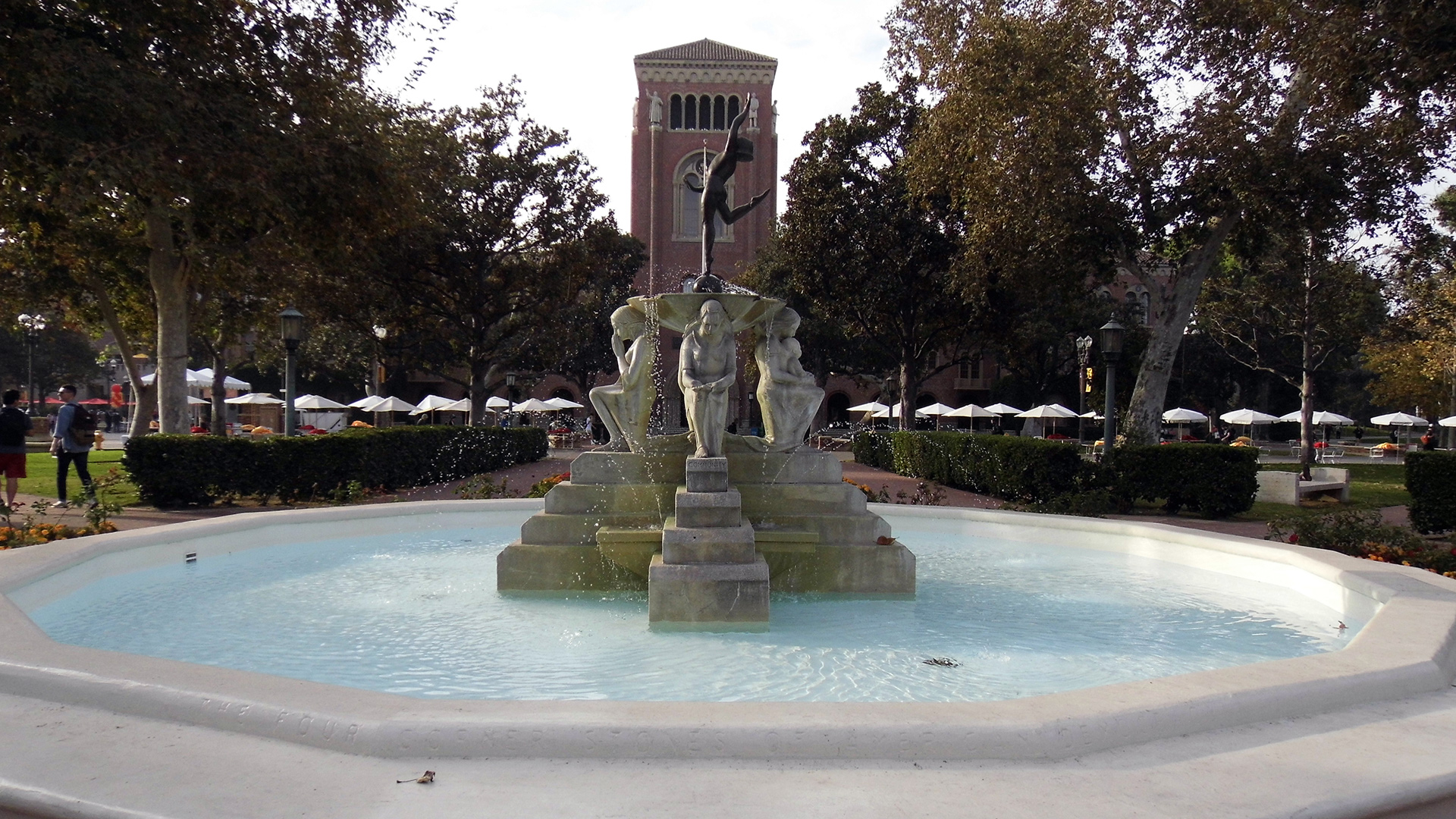 """Youth Triumphant"" Fountain"