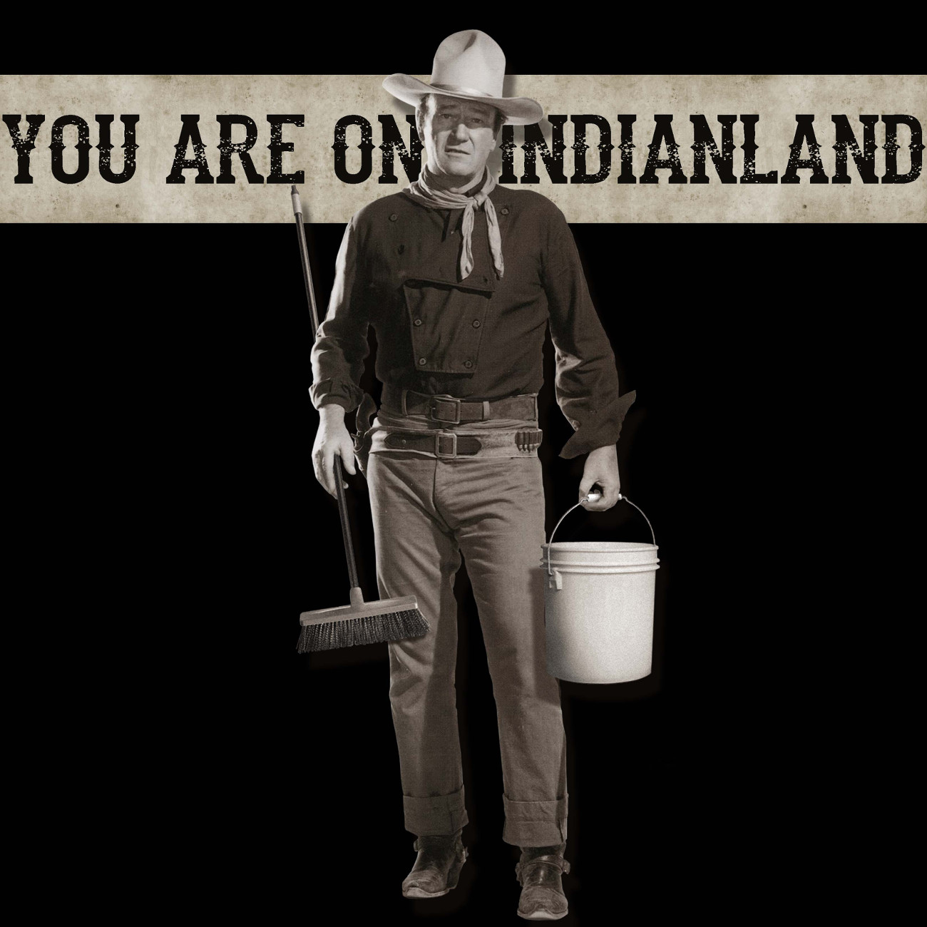 "Votan Henriquez, ""You're on Indianland​."""