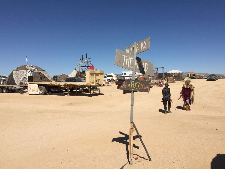 Wasteland Weekend tribal camping sites