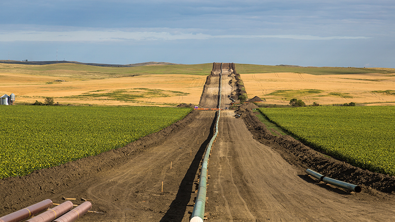 The Dakota Access Pipeline near New Salem, North Dakota | Photo: Tony Webster, some rights reserved