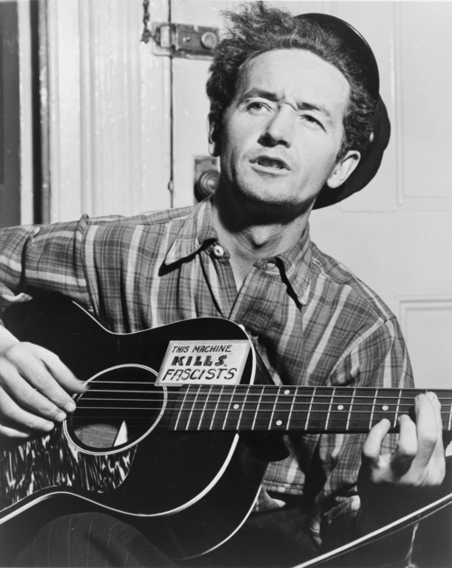Woody Guthrie | World Telegram photo by Al Aumuller/WikiCommons