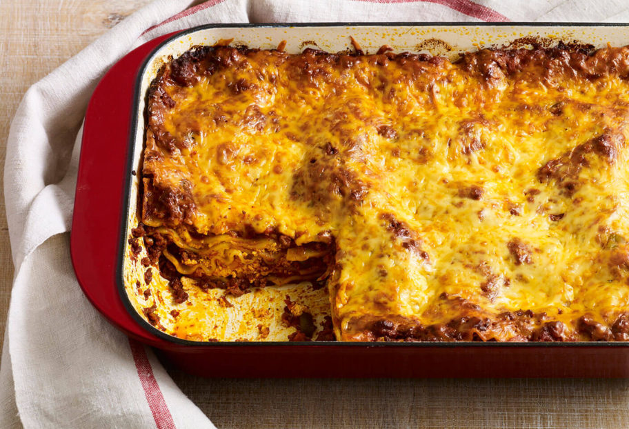 "Yucatecan-style lasagna | From ""Pati's Mexican Table: Season 5, Episode 7"""