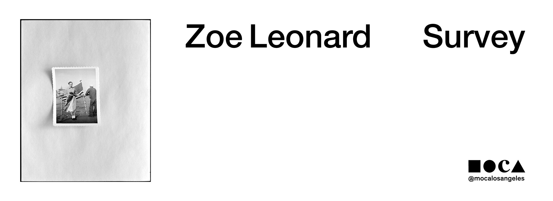 zoe leonard survey at moca