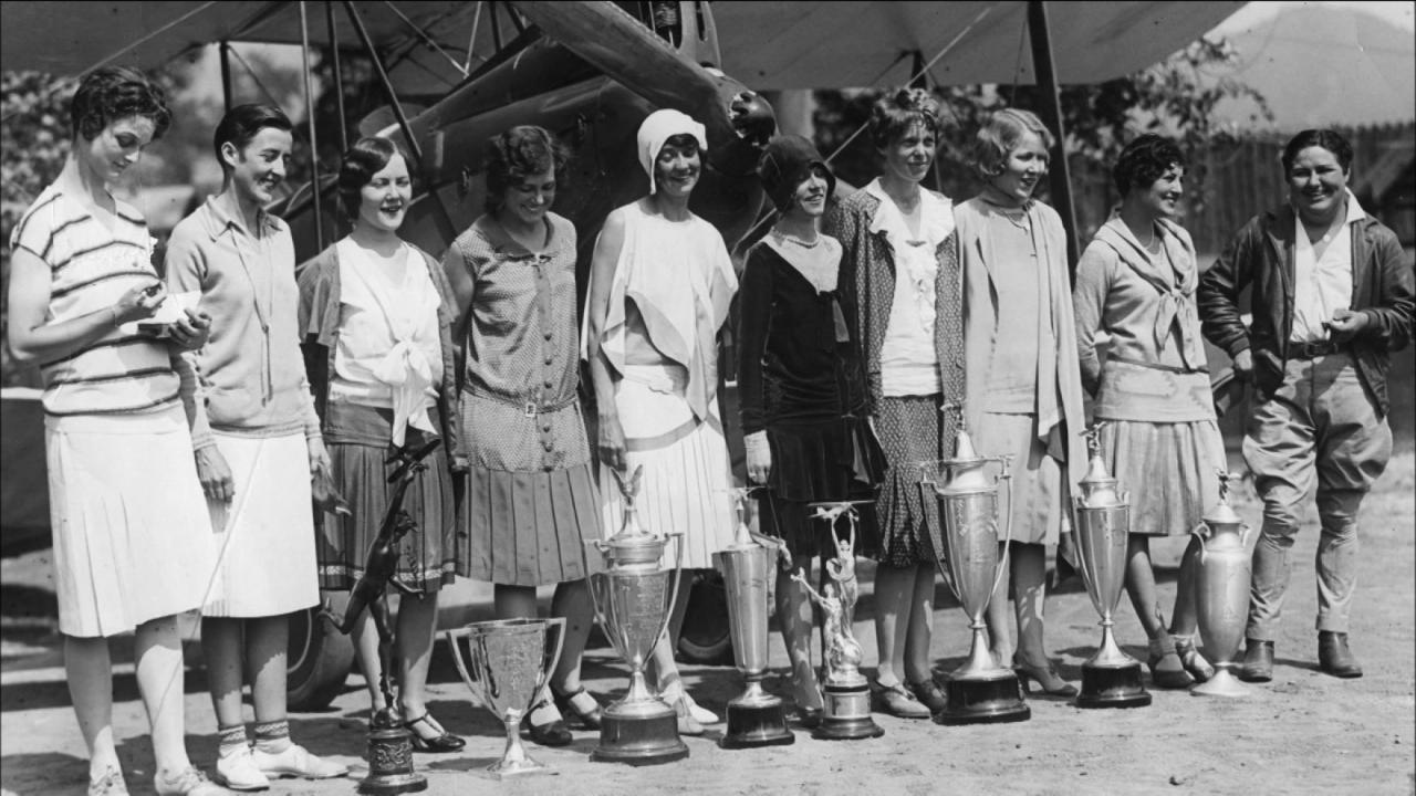 Beyond the Powder: The Legacy of the First Women's Cross Country Air Race