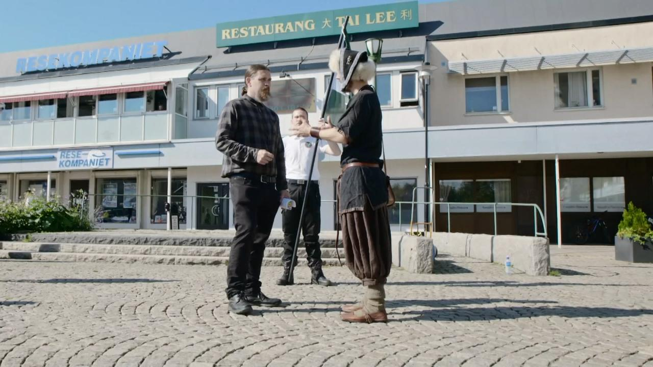 Vikings vs Neo-Nazis