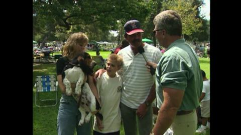 Visiting with Huell Howser: Basset Hound Picnic