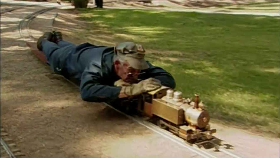 Visiting with Huell Howser: Griffith Park Live Steamers