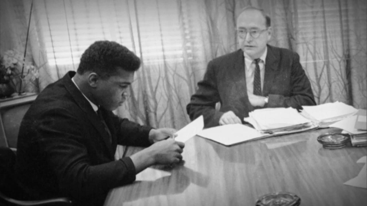 Link Voices: Trials of Muhammad Ali