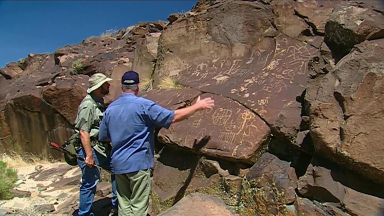 California's Gold: Petroglyphs