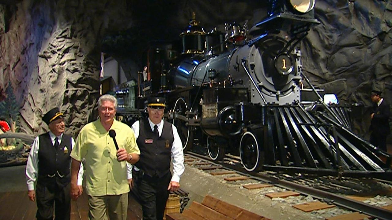 California's Golden Parks: California State Railroad Museum