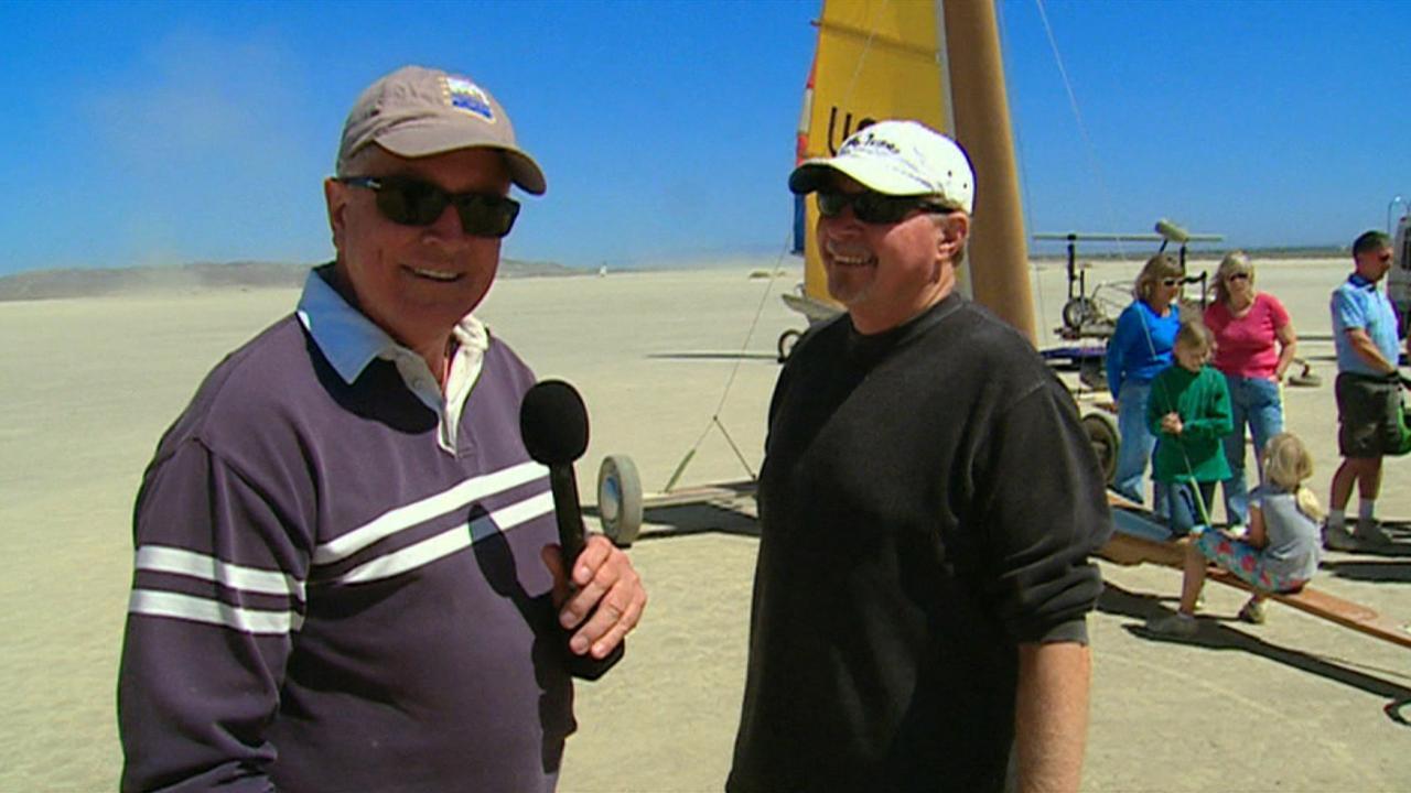 California's Gold: Land Sailing